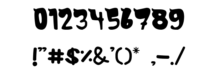 MonsTerio Font OTHER CHARS