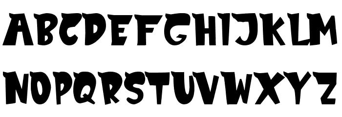 MonsTerio Font UPPERCASE