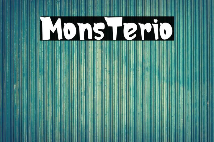 MonsTerio لخطوط تنزيل examples