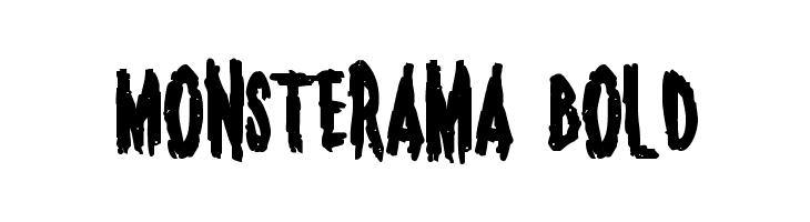 Monsterama Bold  baixar fontes gratis