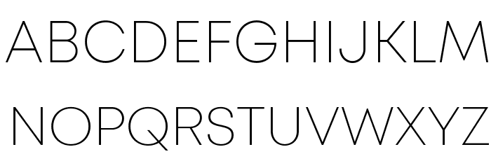 Mont ExtraLight DEMO Font - free fonts download