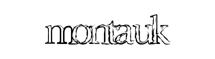 Montauk Font