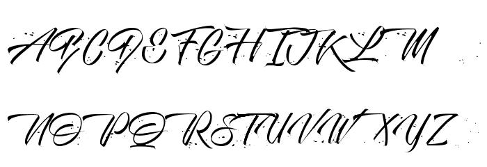 Monte Cristo Schriftart Groß