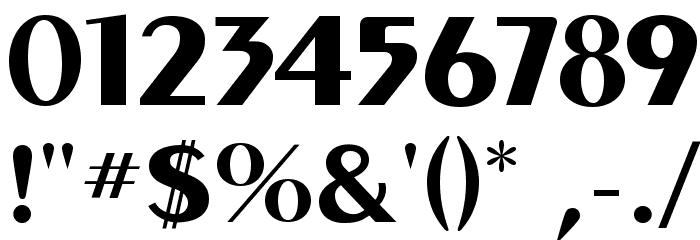 MontereyFLF-Bold Font OTHER CHARS