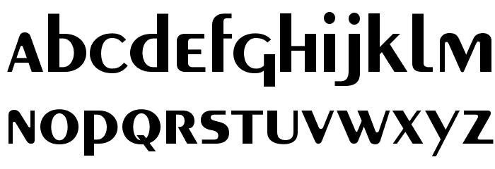 MontereyFLF-Bold Font LOWERCASE