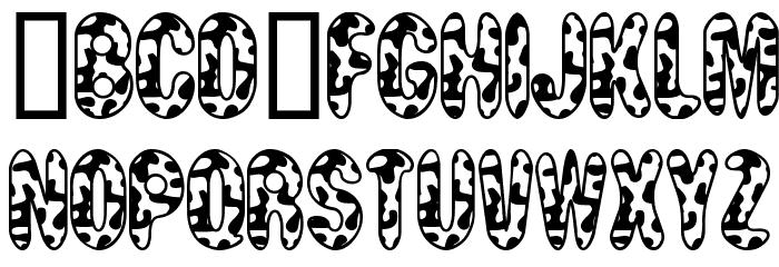 MooCowSW لخطوط تنزيل الأحرف الكبيرة