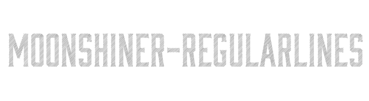 Moonshiner-RegularLines  Скачать бесплатные шрифты
