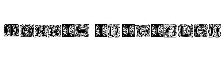 Morris Initialen Font