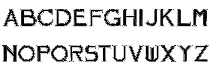 Mosaic Font LOWERCASE