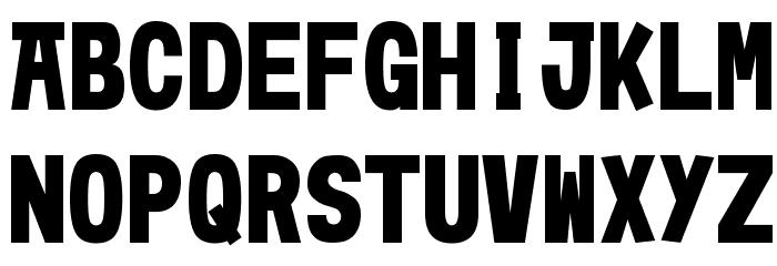 Moshimoji フォント 大文字