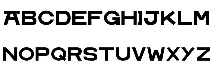 MoshimojiP フォント 大文字