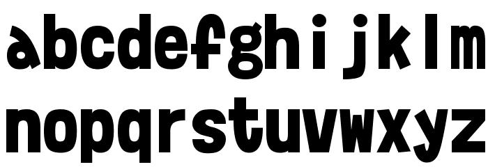 Moshimoji Font LOWERCASE