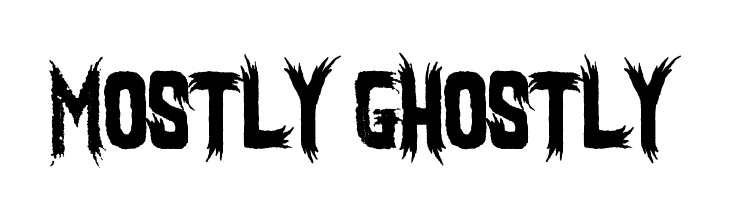 Mostly Ghostly  Free Fonts Download