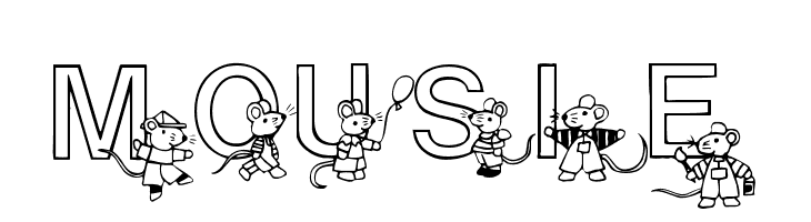 Mousie  Free Fonts Download