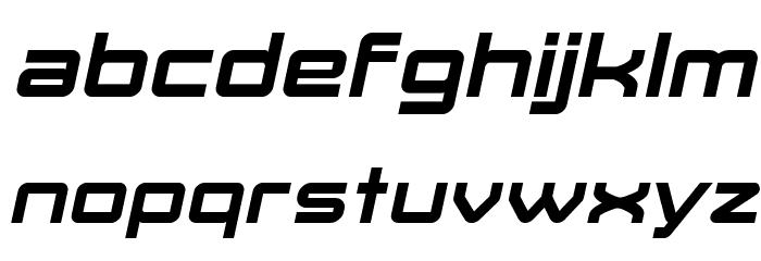Move-X Bold Italic फ़ॉन्ट लोअरकेस