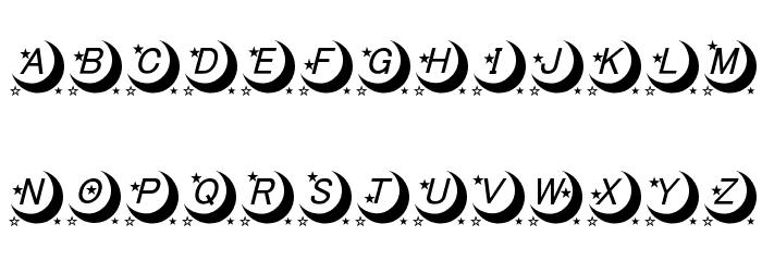 moon font لخطوط تنزيل الأحرف الكبيرة