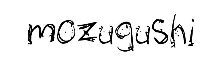 mozugushi  Free Fonts Download