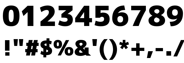 Mplus 1p Black Font OTHER CHARS