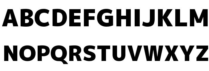 Mplus 1p Black Font UPPERCASE