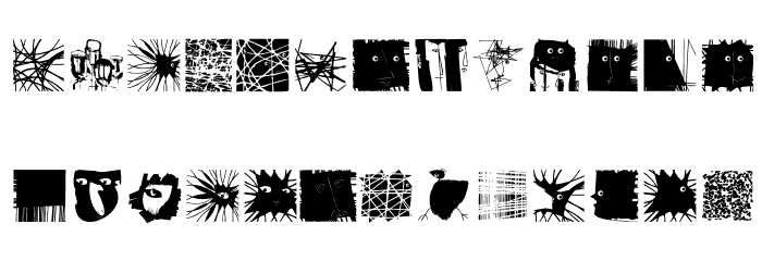 MSketchesTwo Medium Fonte MINÚSCULAS