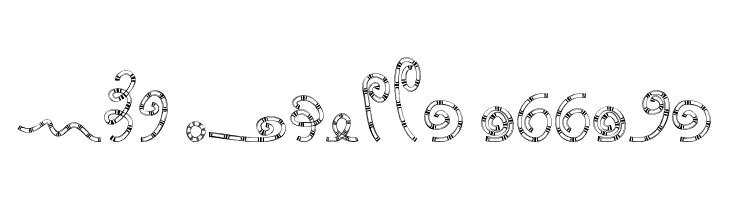 MTF Chunkie Doodle  Frei Schriftart Herunterladen