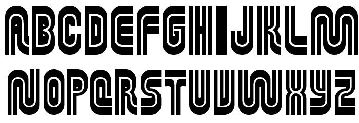 MUNIficent Font Litere mari