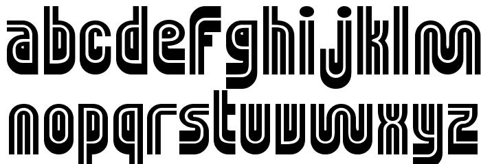 MUNIficent Font Litere mici