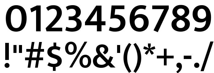 Mukta Vaani SemiBold Font OTHER CHARS