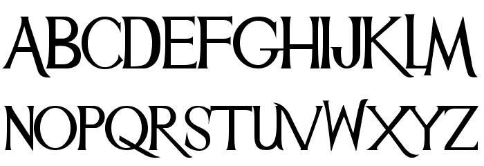 Mulan Font UPPERCASE