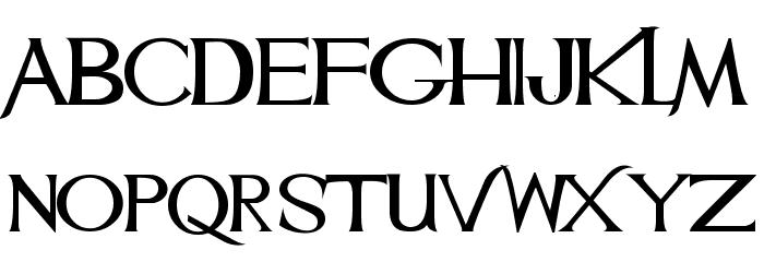 Mulan Font LOWERCASE