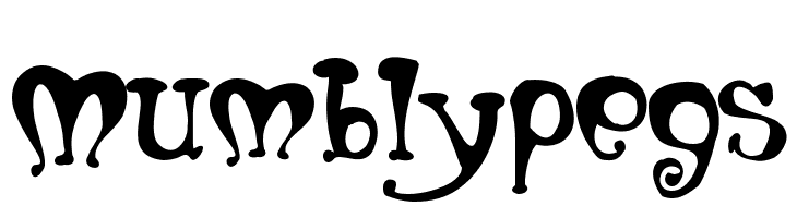 Mumblypegs  Free Fonts Download