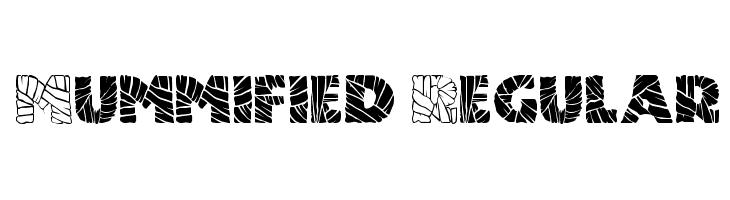 Mummified Regular  नि: शुल्क फ़ॉन्ट्स डाउनलोड
