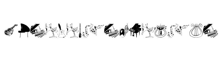 MusiciansFriends  フリーフォントのダウンロード