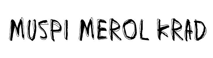 Muspi Merol Krad  नि: शुल्क फ़ॉन्ट्स डाउनलोड