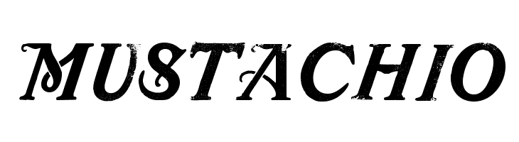 Mustachio  Free Fonts Download