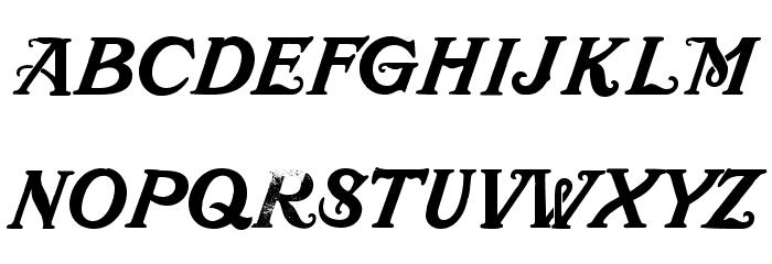 Mustachio Font Litere mari