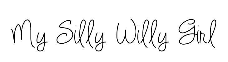 My Silly Willy Girl  免费字体下载
