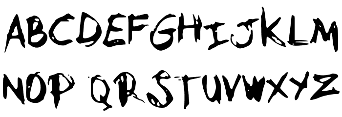 MySketchFont Font UPPERCASE