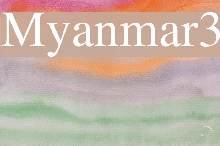 Myanmar 3 Unicode Baixar De Font For Mac - baldcirclegun