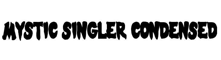 Mystic Singler Condensed  Fuentes Gratis Descargar