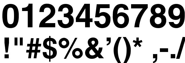 Mytupi Bold Font OTHER CHARS