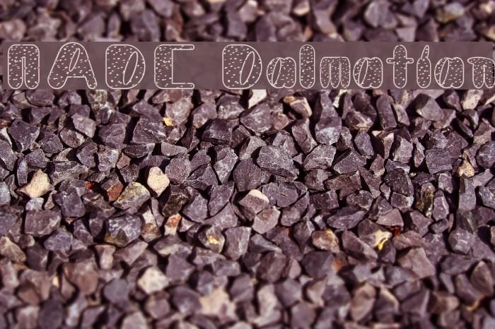 NADC Dalmatian Fonte examples