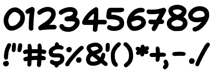 NATURAL SUGARS Шрифта ДРУГИЕ символов