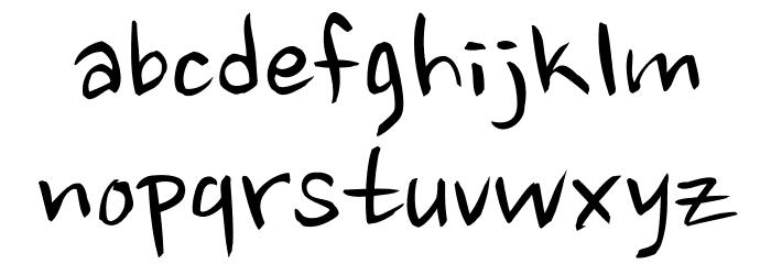 nanum brush script font