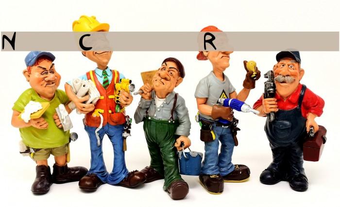 Nas Coxas Regular Caratteri examples