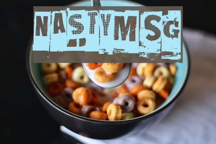 NastyMSG Font examples