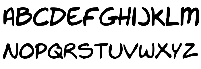 Nate-s-Choice Font LOWERCASE