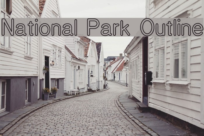National Park Outline Polices examples
