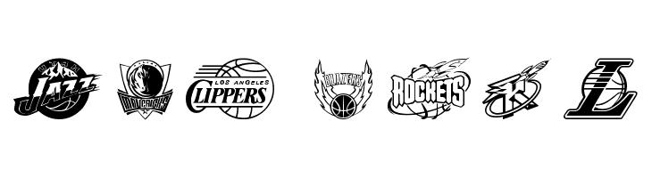 N Free Fonts on FFonts.net like NBA Timberwolves, NBA Trailb