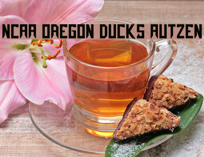 NCAA Oregon Ducks Autzen Fonte examples